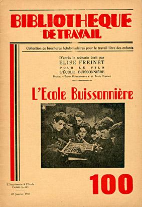 Freinet BT Ecole Buissionnière