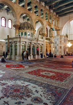voyage en Syrie : la Grande Mosquée de Damas