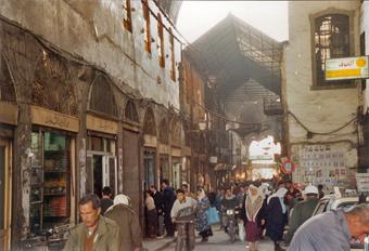voyage en Syrie : Damas