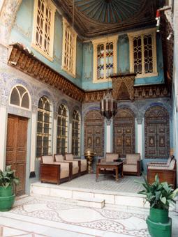 voyage en Syrie : maison de Damas