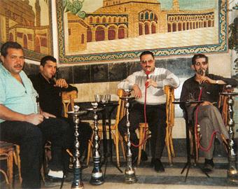voyage en Syrie : narghilé
