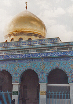 voyage en Syrie : Mosquée Zeinab