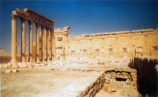 voyage en Syrie : temple Bel Palmyre