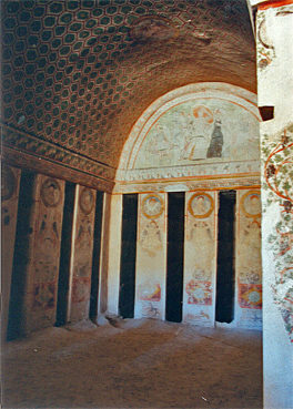 voyage en Syrie : nécropole de Palmyre - tombeau