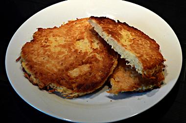 patate : pomme de terre - rosti