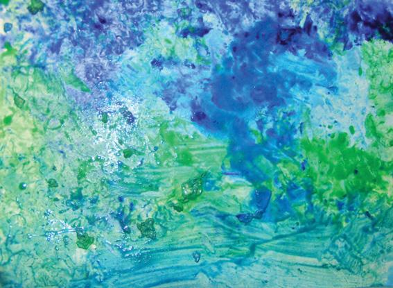 Carte blanche eau coop 39 icem for Technique de peinture murale a l eponge
