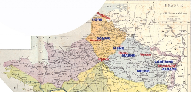 Carte 1892 - Archives Dhénin