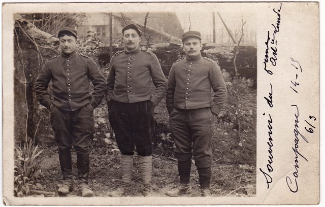 Fleur au fusil - Archives Corsan-Dhénin