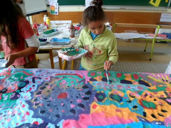 Peinture Collective Coop Icem