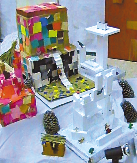 Revue cr ations en ligne paysages n 210 d cembre 2012 for Revue bricolage maison
