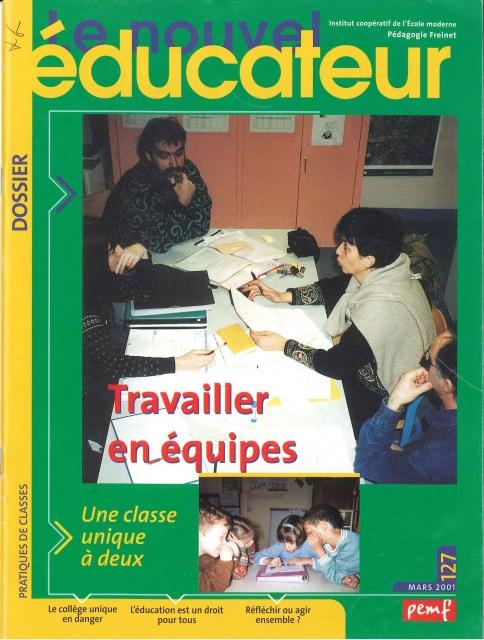 Le Nouvel Educateur n° 127